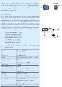 GSM Video Door Phone 2